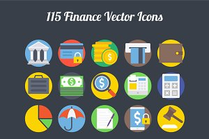 100+ Finance Vector Icons