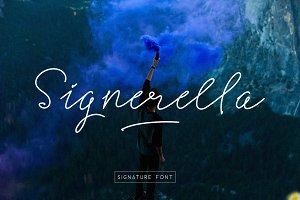 Signerella Font Duo 30% OFF