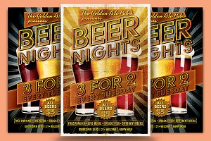 Beer Nights Flyer Template