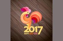 symbol of new year 2017