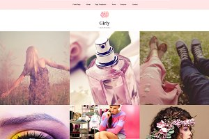 Girly - Feminine WordPress Theme