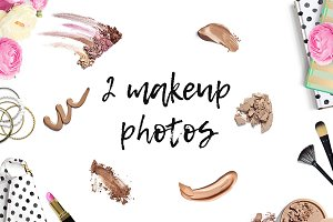 2 Makeup Styled Stock Photos