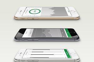 Modern OS App UI PPT Kit