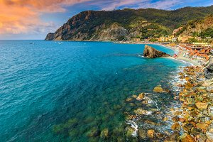 Monterosso Al Mare village and beach