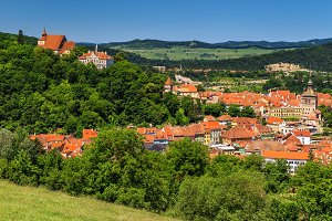 Famous medieval town of Sighisoara
