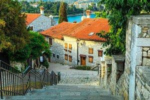 Medieval Croatian old street