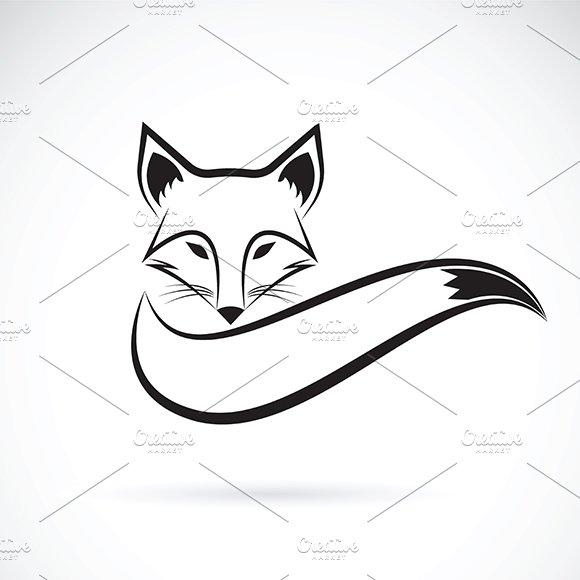 Vector Of A Fox Design