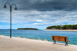 Romantic place with Adriatic sea