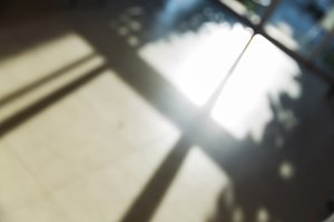 shadow on floor