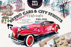 Retro cars & city streets