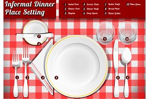 Informal Dinner Place Setting