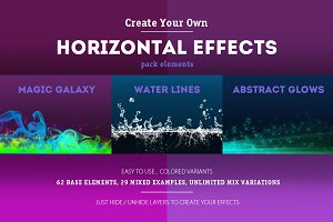 Horizontal Effects Pack [-30% off]