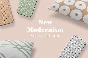 New Modernism Vector Patterns