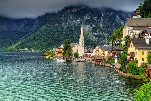 Beautiful historic village,Hallstatt