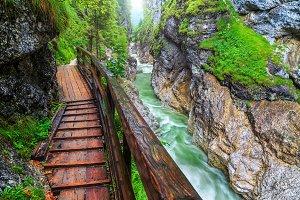 Gorge Lammerklamm in Austria