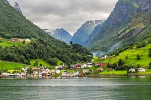 The Village of Undredal, Norway