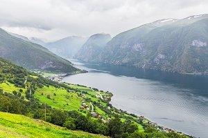 The Aurlandsfjord, Norway