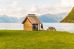 Fisherman Cabin, Norway