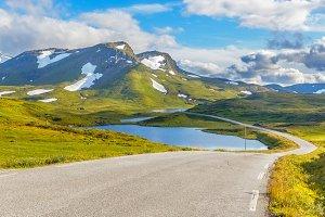 Landscape in Norway