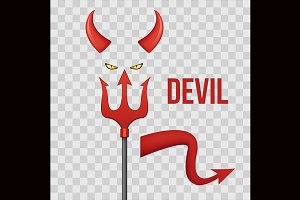 Evil from Hell.T-shirt poster design