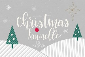 Procreate Christmas Bundle