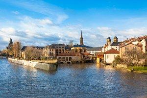 Metz city, France
