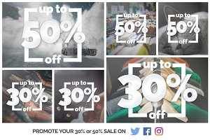 Promote your Sale on social media