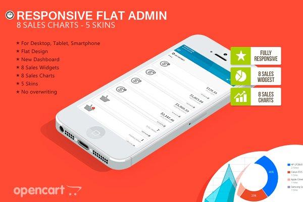 OpenCart Themes: ThemeBooster.com - Responsive Flat Admin