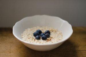 Oatmeal & Blueberries