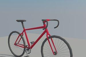 Low Poly Bike