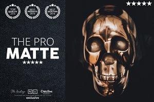 The PRO MATTE 80 Photoshop Actions