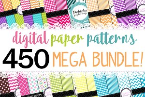 98% OFF SALE digital paper bundle!