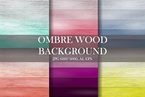 Ombre wood background.