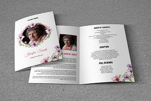 Funeral Program Template-V628