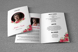 Funeral Program Template-T629