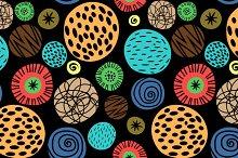 Colorful kids pattern