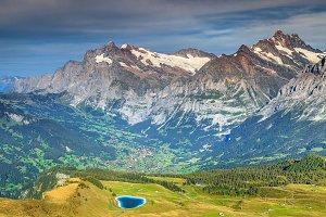 Alpine landscape,Switzerland