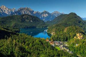 Bavarian landscape,Germany