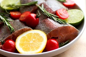 Trout for baking