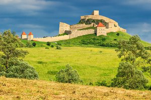 Medieval fortress citadel,Romania