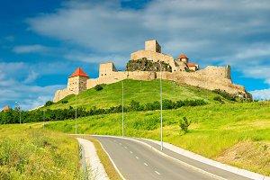 Rupea fortress in Transylvania