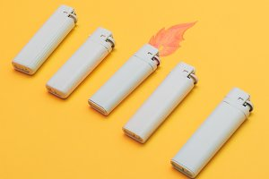 Five lighters