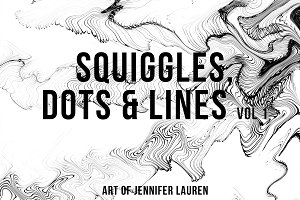 Squiggles, Dots & Lines Vol 1