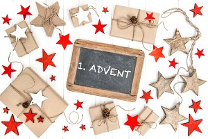 1 Advent Christmas decoration
