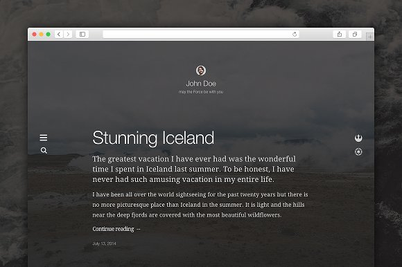 Imago - WordPress Theme