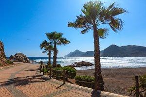 Summer beach, Spain.