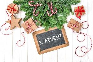 Christmas decoration 1 Advent