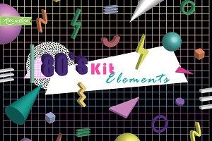 80's Kit Elements