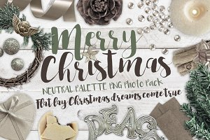 Merry Christmas PNG Photo Pack