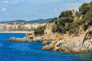 Lloret de Mar town, Spain
